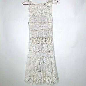 Alice + Olivia Crochet Knit Women's Dress, Size XS